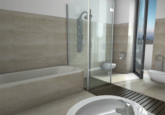 Interni Del Bagno Pictures to pin on Pinterest