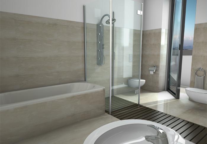 Il bagno interni gaia la prima casa che si carica e ti ricarica - Bagno feng shui ...
